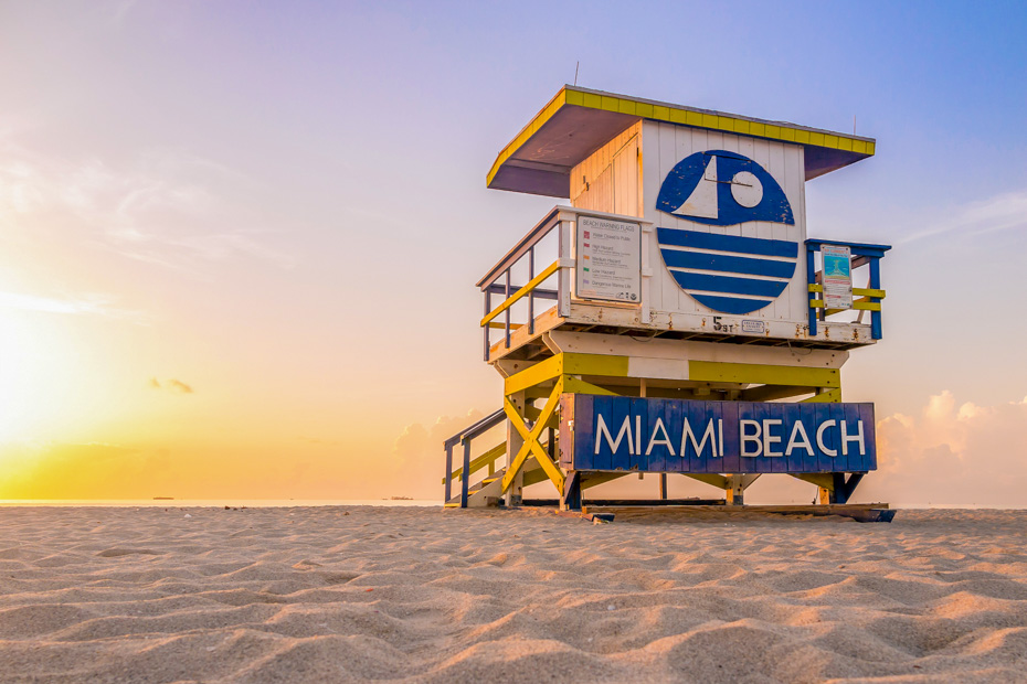 What to do in south beach miami, the art deco design Lifeguard Huts along South Beach are an iconic tourist sights. Discover all the best things to do in South Beach Miami with our Miami Beach Travel Guide.