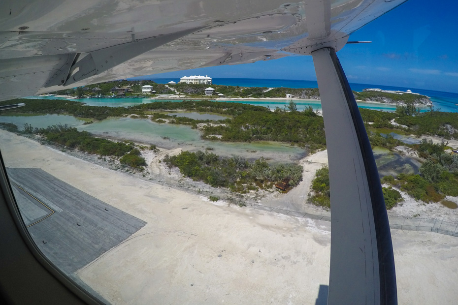 How to get to exuma? Getting to Exuma is easiest by plane, with Bahamas Air Tours, fly by plane from Miami or Nassau to Exuma Staniel Cay - gateway to the pig beach and swimming pigs island at Big Major cay