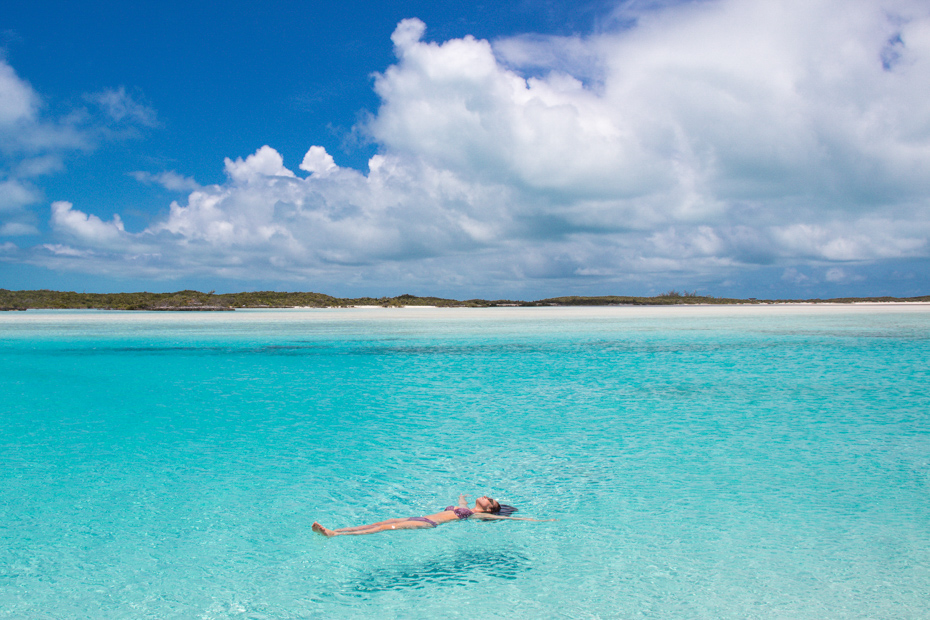 Float in the transparent waters of the Exumas on your Bahamas vacation. Check out Exuma tours and highlights on your day trip to Bahamas.