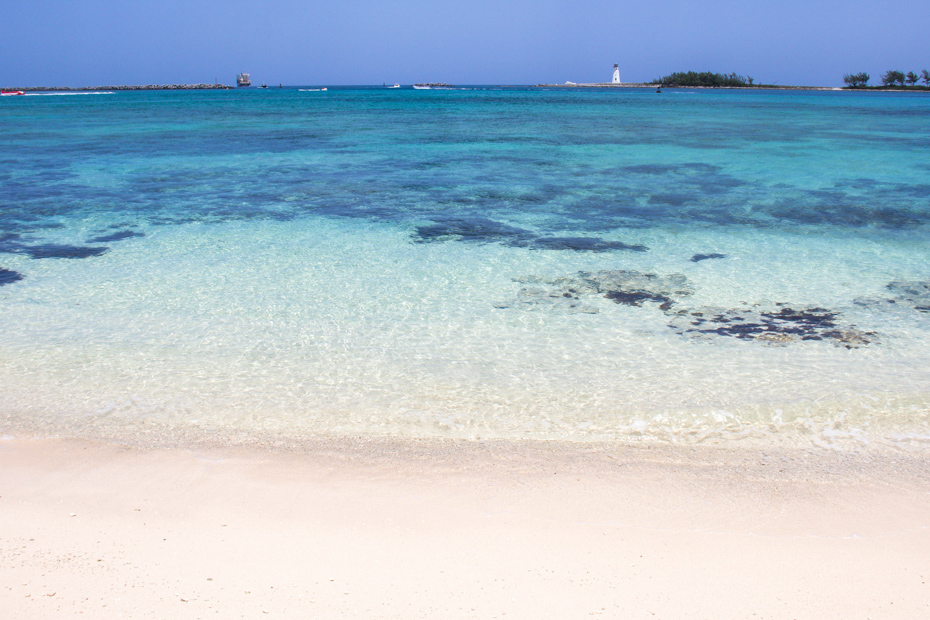 Some of the best beaches in Nassau for cruisers are just minutes from the cruise port. Check out Junkanoo Beach, for instance.