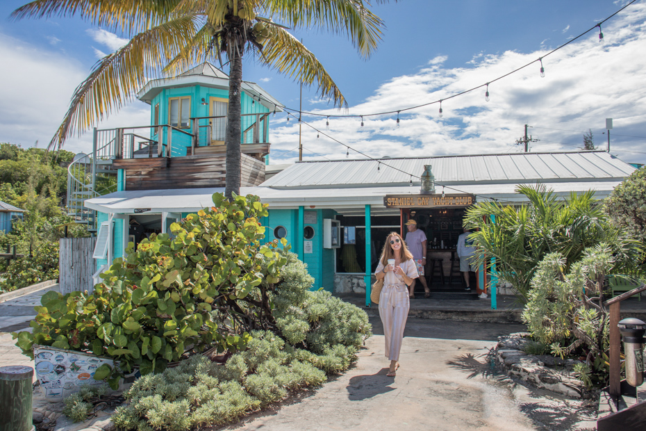 Staniel Cay Yacht Club is a must for Exuma visitors! Take a Bahamas day trip from Miami to Staniel Cay just to see!